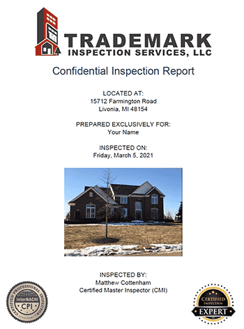 See a Sample Home Inspection Report
