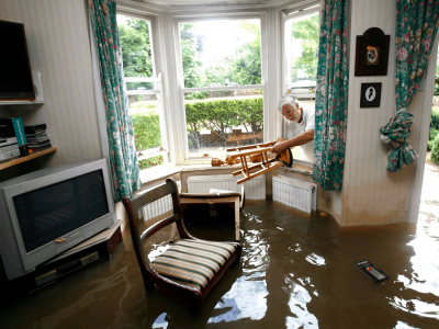 Adrian Michigan Home Inspector Flooded House
